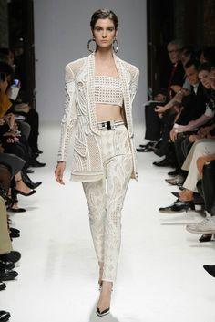 balmain 2013 Spring Collection #jacket #balmain #womensfashion #style #fashion #look #blazer #details #luxury #luxe #highend #trend #dress #details