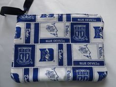 Duke University makeup bag  cosmetic pouch or by AllThingsByDee, $6.00