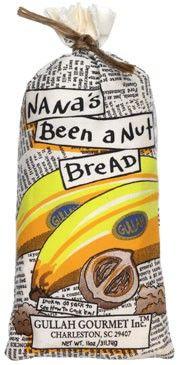 Nana's Been a Nut Bread
