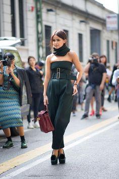 Miroslava Duma Milan Fashion Week Spring 2014