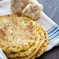 Cauliflower tortilla