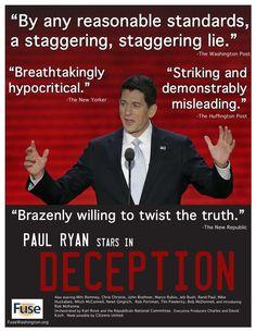 Paul Ryan stars in 'Deception'...