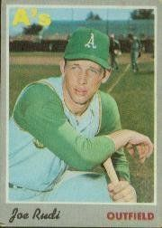 1970 Topps #102 Joe Rudi - EX by Topps. $0.46. 1970 Topps Co. trading card in excellent condition, authenticated by Seller
