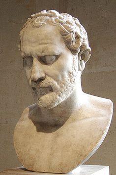 Demóstenes (384 a.C.- 322 a.C.), jurista ateniense.