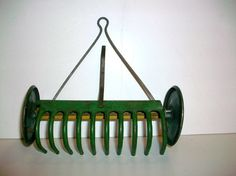 Vintage Tin Toy - 1940s, Farm Tool