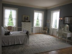 Edith Wharton's bedroom