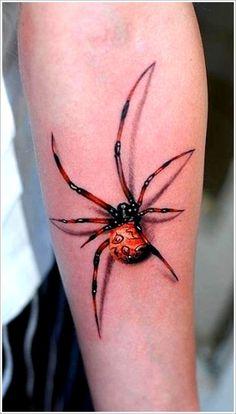 Fantastic Spider Tattoo Designs: Original Spider Tattoo Design On Arm ~ Tattoo Design Inspiration