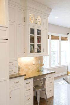decor, inspir kitchen, desk area, kitchen desks, kitchen desk ideas, futur, kitchen idea, cabinet, hous
