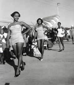 Beauty pageant held in the city of Greenwood, Mississippi c. 1960