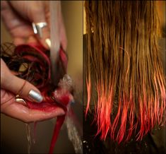 how-to: dip dye hair!