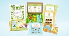 Spark a love of good food in your kids!  Kidstir's monthly kits encourage kids to explore, cook, and learn all about good food.
