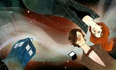 Doctor Who & Amy Pond