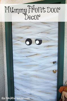 Mummy Door for Hallowee