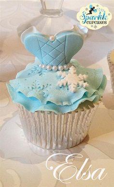 Frozen Elsa Cupcake