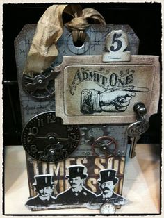 Tim Holtz you are an evil genius!!