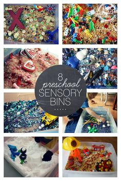 8 Sensory Bins Perfect for Preschoolers - Kids Activities Blog
