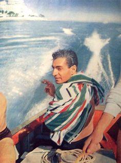 Shah & Soraya vacationing in Miami Beach, Life magazine, Feb 14, 1955.