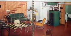 Basement room - Sherwin Williams Paint and Color Style Guide 1941