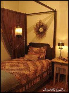 great looking bedroom...