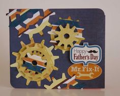 Happy-Father's-Day-Card Echo Park Mini Theme Get the collection at #craftysteals