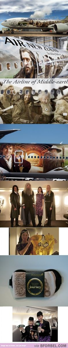 One Does Not Simply Walk Into Middle-Earth… One Flies…