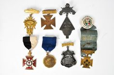MASONIC MEDALS & PINS