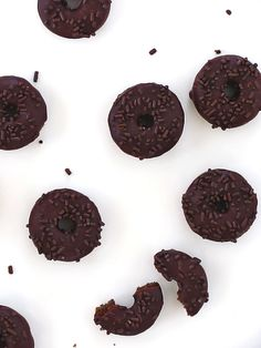 Baked Chocolate Stout Donuts
