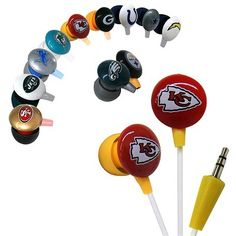 NFL Earbuds : $4.99 + Free S/H (reg. $19.99)
