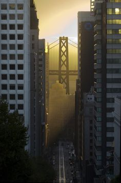 Downtown San Francisco from Nob Hill