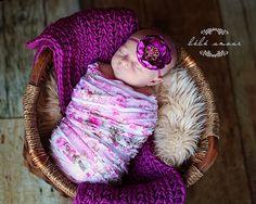 Leighton Heritage Newborn Ruffle Stretch Wraps by LeightonHeritage