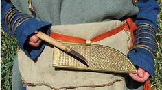 Finnish iron age, knife for woman's costume.