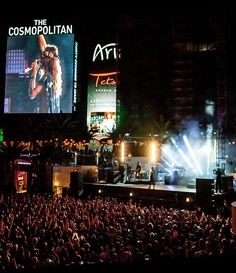 On Saturday, Sept. 20, rock band Thirty Seconds to Mars played their final U.S. tour date of the year for a sold-out crowd at Boulevard Pool at The Cosmopolitan of Las Vegas