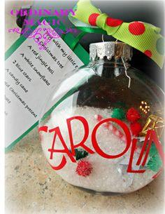 Ordinary Magic: I spy Christmas ornaments