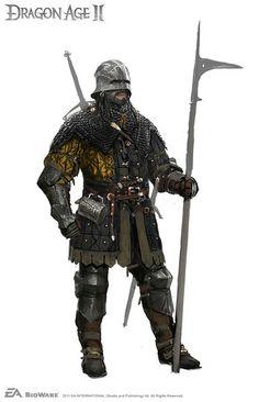 Dragon Age Mercenary armor concept