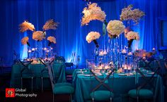 Indian-wedding-reception-ritz-carlton-blue-decor-3
