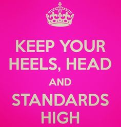 The higher the better!