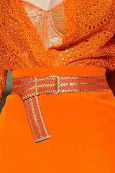 Orange fashion #Mikyajy @Mikyajy MakeUp MakeUp @Mikyajy MakeUp MakeUp MakeUp ♥ fashion, mabill spring, color, dress, alexi mabill, oranges, spring 2012, alexis mabille, haute couture