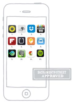 Top12 Apps to Download   Sacramento Street Approved