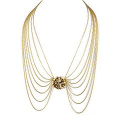 Mod Ball Necklace, $162, now featured on Fab.