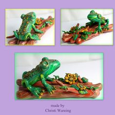 Frog from the #FriesenProject by Christi Wareing