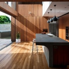 The Flipped house by MCK architects