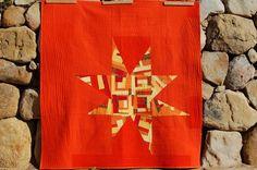 wall hangings, system final, final instal, quilts, dreamcatch quilt, hang system, quilt idea, modern quilt, quilt making