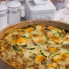 Easy Cheesy Zucchini Casserole