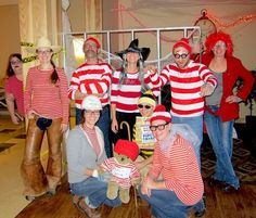 """Halloween at #OrganicValley poses lots of challenges: best costume, best decorations, ect. Here a group of employees dressed up as """"Where's Waldo!"""""""