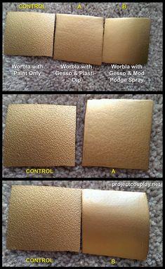 Worbla Tests - Making Worbla Smooth
