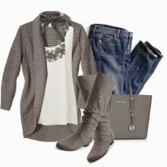 Casual Outfit | Gray