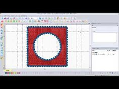 ▶ Applique - Floriani My Decorative Quilter - YouTube