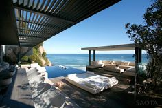 interior design, patio design, villa, south africa, outdoor living spaces, outdoor patios, mar, hous, cape town