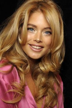angel, natural makeup, layered hairstyles, long hairstyles, color, doutzen kroes, brow, beauti, coiffur