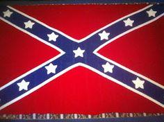 Crochet Patterns Rebel Flag : crochet confederate rebel flag blanket i designed per a customers